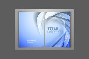 Blue Business Front and Back Flyer