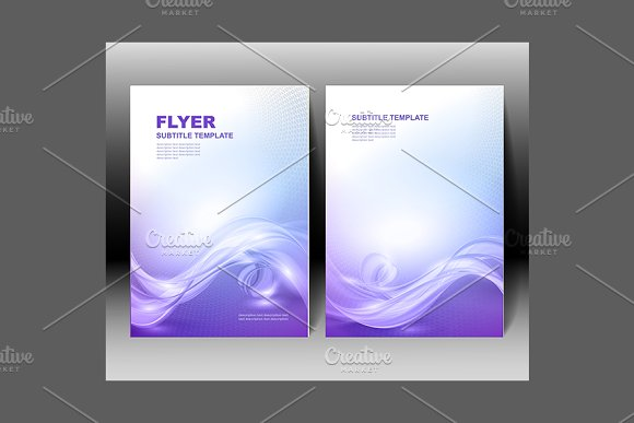 Vector brochure template design - Brochures