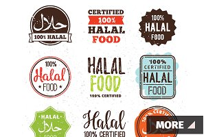 Halal food labels set