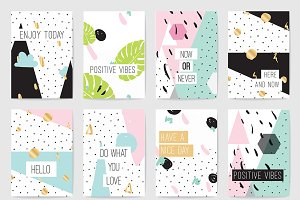Cards with inspirational quotes