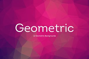 10 Geometric Backgrounds v3