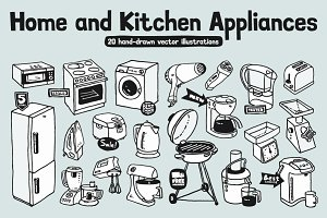 Home & Kitchen Appliances. 20 Images