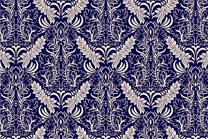2 Damask Patterns