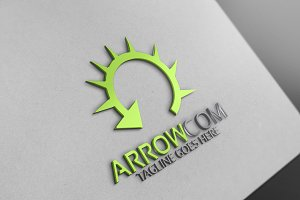 Arrow com Logo