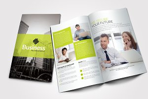 4 Pages Business Bi Fold Brochure