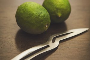Limes and a Knife