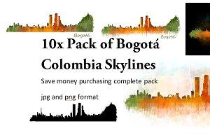 10x Pack Bogotá City Skylines