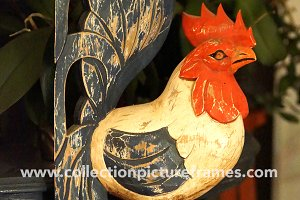 Rustic Wood Rooster