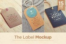Tags / Labels Logo Mockup