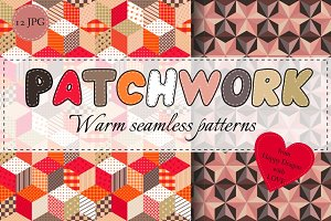 Collection of warm patchwork