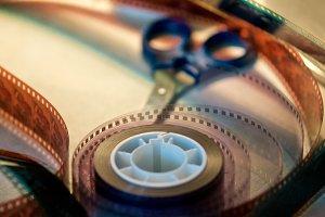 Vintage film editing #2
