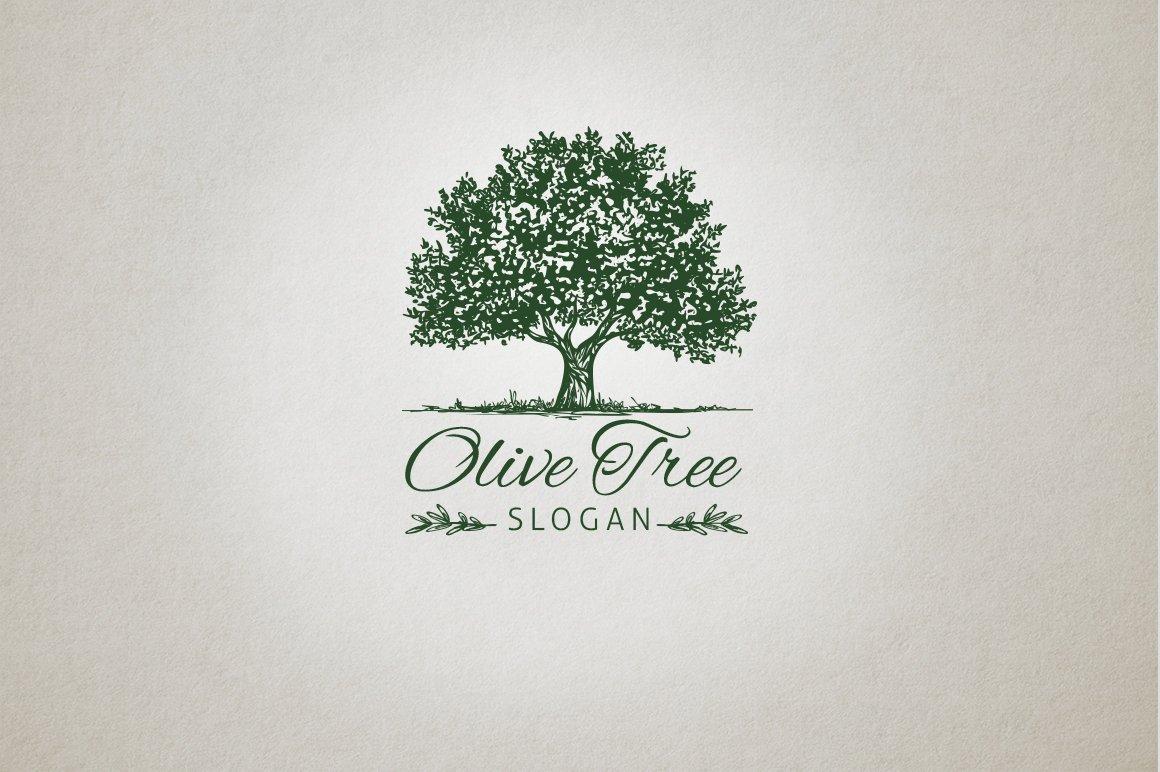 Olive Tree Logo Logo Templates Creative Market
