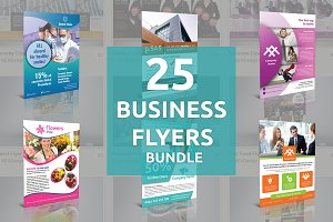 25 Business Flyers Bundle - SK