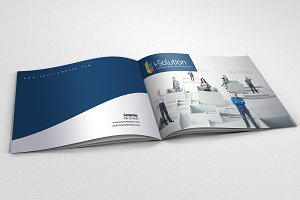 12 Pages Bi Fold Brochure Catalog