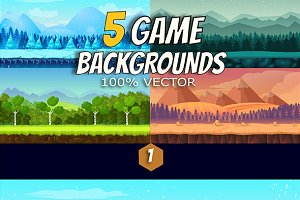 5 Game Backgrounds