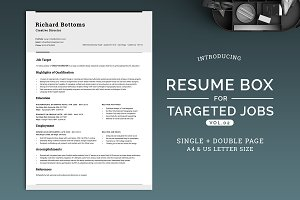 Resume Box for Targeted Jobs V.2
