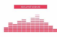 Sound & Audio equalizer Wave