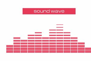Sound & Audio equalizer Wave
