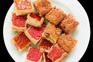Bischeri cake, a Tuscan sweet