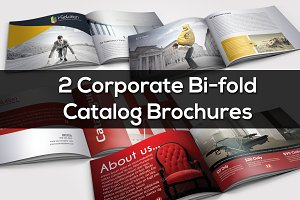 2 BiFold Catalog Brochure Bundle