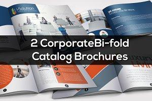2 Bi Fold Catalog Brochure Bundle