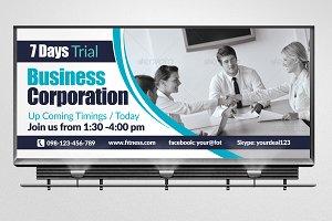 Muti Business Billboard Template