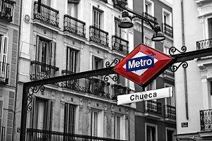 Chueca underground station