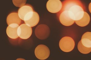 Abstract of bokeh background
