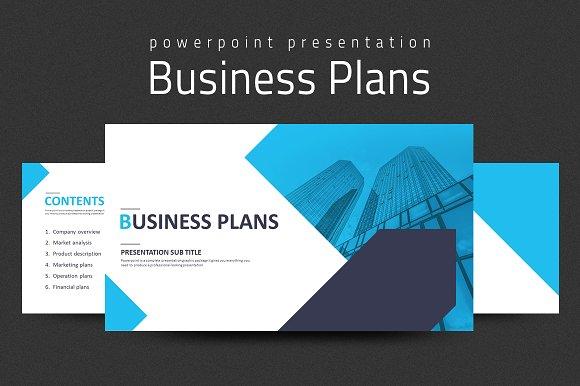 business plans presentation strategy presentation templates