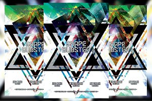 Shape Dubstep Flyer