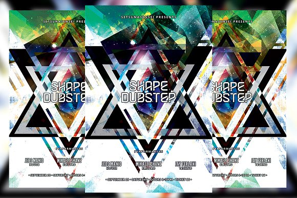 Shape Dubstep Flyer
