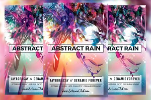 Abstract Rain Flyer