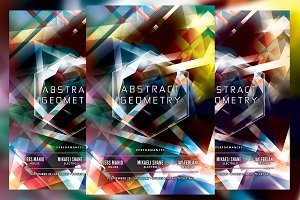 Abstract Geometry Flyer