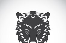Vector images of bear head