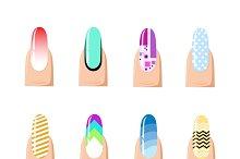 Manicure design set