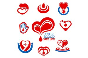 Blood donation, healthcare, medicine