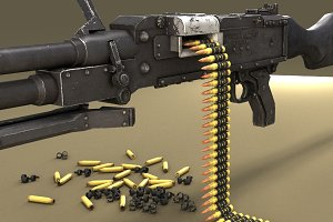 GPMG weapon machine gun