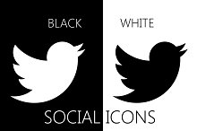 by  in Black And White Icons