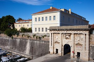 Land Gate to Old City of Zadar