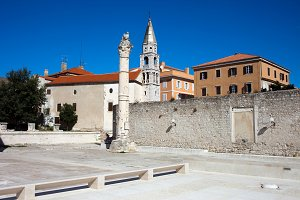 Old Town of Zadar in Croatia