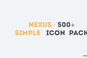 NEXUS - 500+ Pixel-Perfect Icons