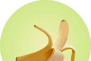 Banana (vector mesh)