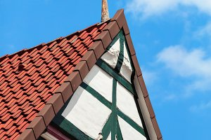 German historical timber-frame houses of Celle, Lower Saxony