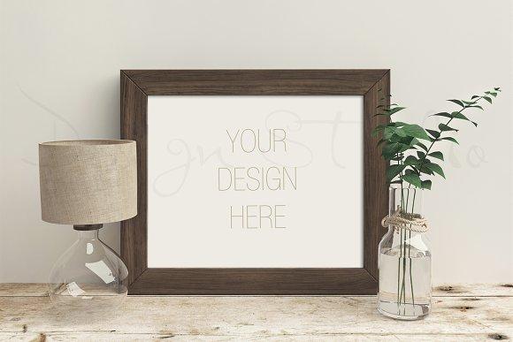 Styled Stock Photo, Frame mockup
