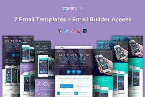 Spiritapp - App Promotional Email