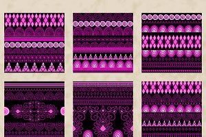 Ethnic Pink Set