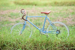 Sport vintage bicycle
