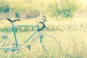 Sport vintage bicycle