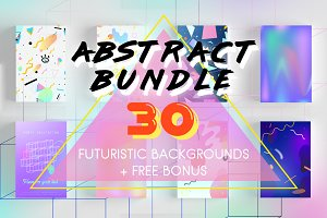 Abstract Bundle. 30 Prints + BONUS
