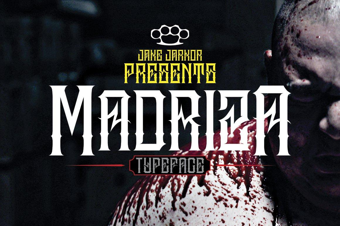 Bandidos Blackletter Fonts Creative Market